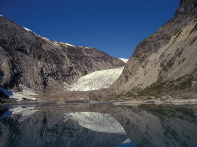 glaciar Nigards en 1993