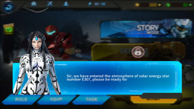 3D Overwatch hero 2: Space armor 2 Android 1.0.4 Full