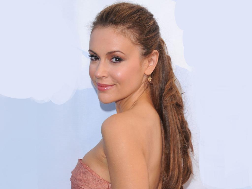 Most Beautiful Woman In The World Alyssa Milano-6907