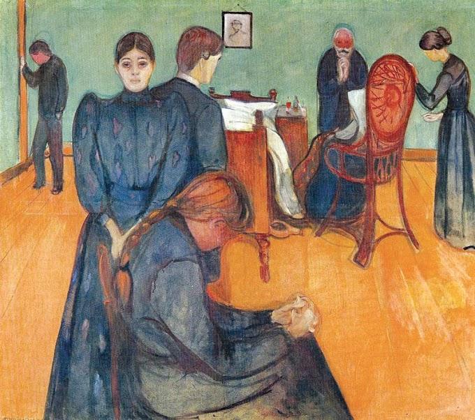 El virus de Munch de Carmen Ávila. Poesía en la enfermedad