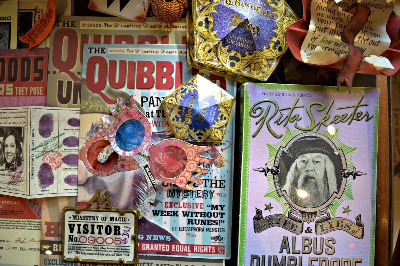 Dumledores biography the quibbler and other exhibits at the house of minalima