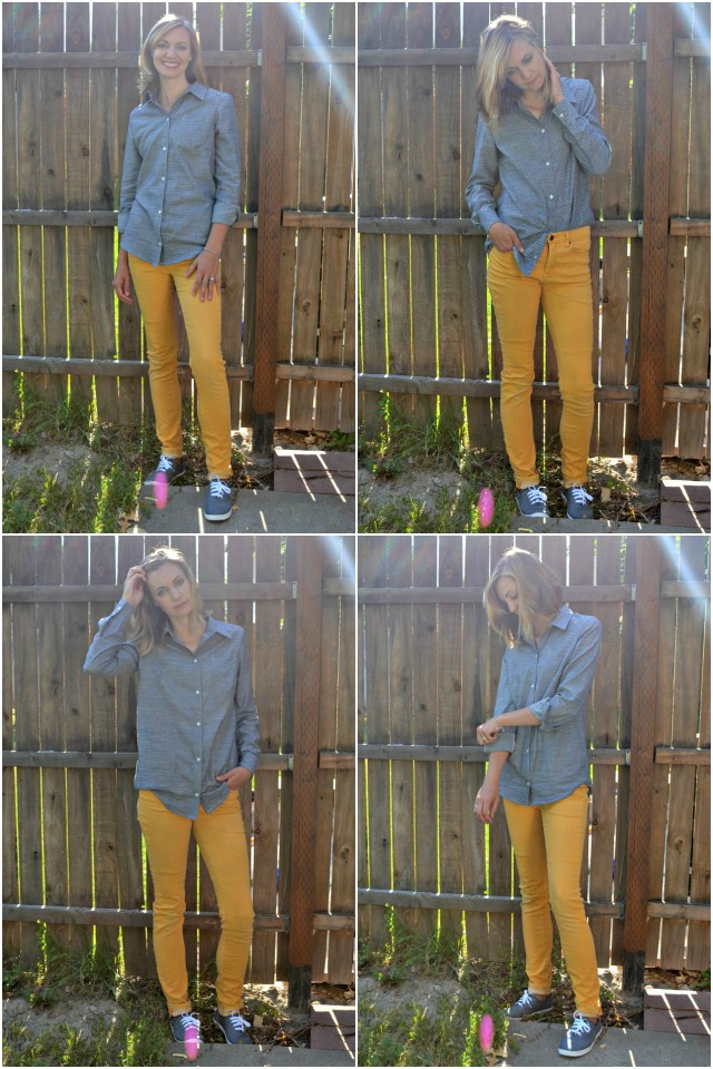 Me Made: DIY Chambray Button Up Shirt
