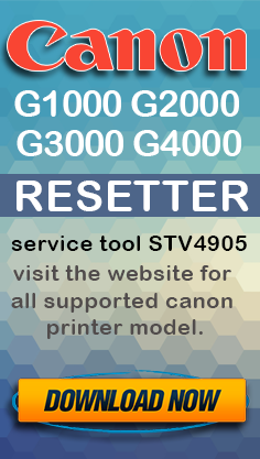 Download Resetter Canon St4905 : download, resetter, canon, st4905, Canon, Resetter, G1000, G2000, G3000, G4000, Printer, Tromonkeys