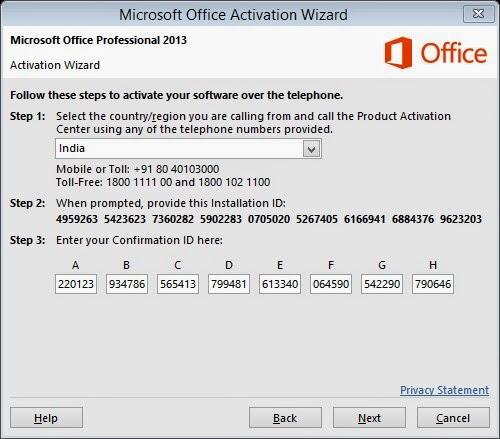 i have microsoft office 2013 product key