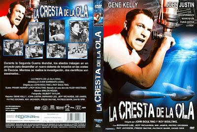 Cover, carátula, dvd, La cresta de la ola | 1954 | Seagulls Over Sorrento (Crest of the Wave)