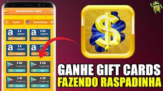iScratch: Ganhe Dinheiro e Gift Cards Fazendo Raspadinha