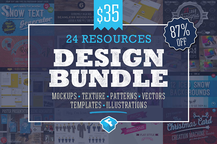 24 Design Resources Discount Bundle