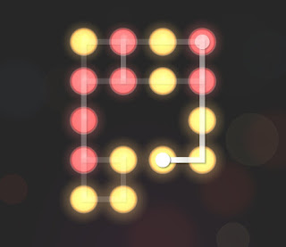 Solution, Cheats, Walkthrough for Neon Hack [Neon Dots] Level 43