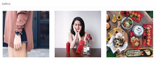 Gallery to showcase portfolio in BigCast public profile page