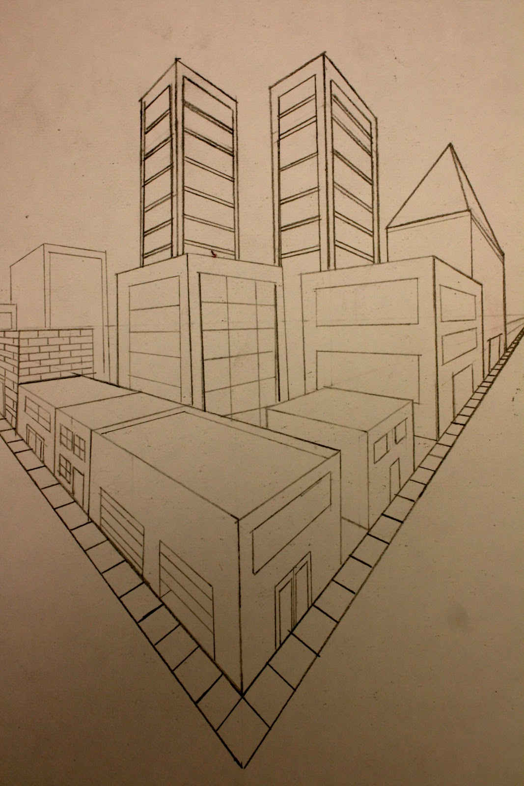 Perspective Drawing Room: The Art Class: Additional Perspective Pieces