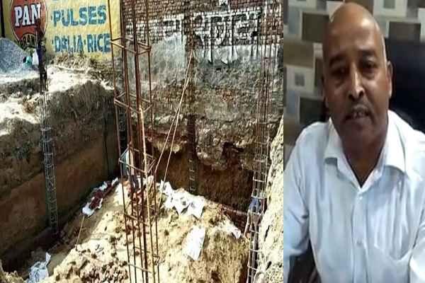 ballabhgarh-news-ravidatt-sharma-accuse-vikrant-singala-illegal-basement