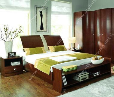 Warmth design for modern bedroom furniture set