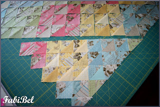Patchwork - Gathering fabric pieces