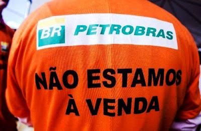 Centrais sindicais apoiam a greve dos petroleiros