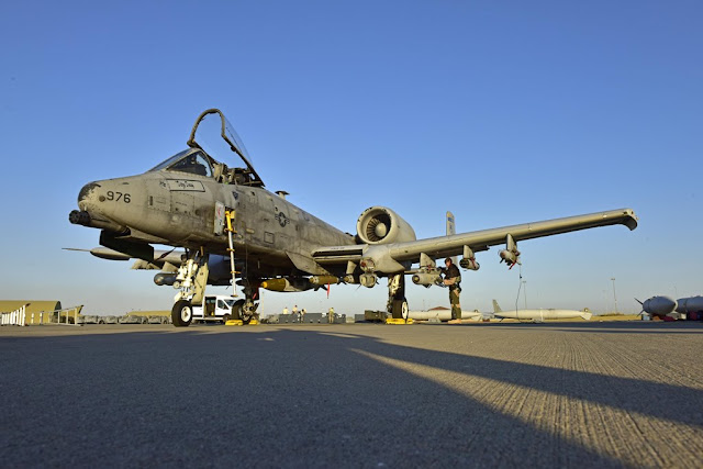 Combat experience A-10 pilot Inherent Resolve ISIS