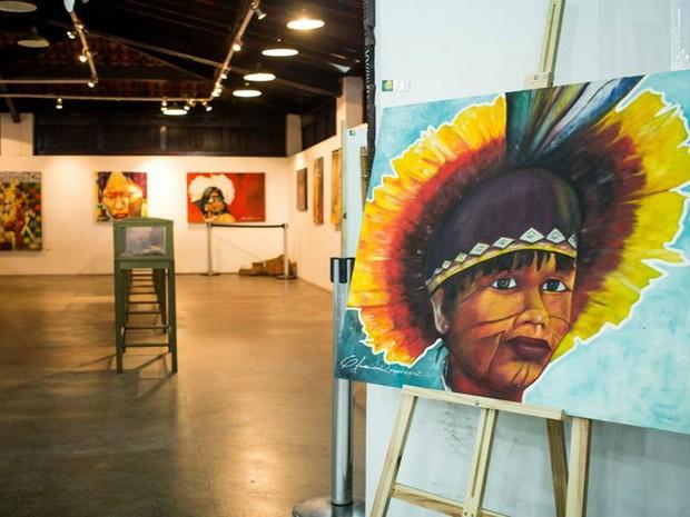 Exposição ficará aberta até domingo (24) em Salvador (Foto: Andreza Mona)
