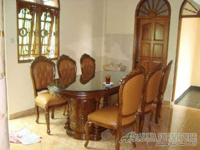 furniture kursi meja makan ukiran