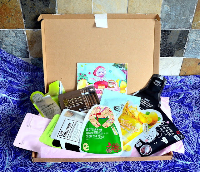 Sheet Mask Squad July box