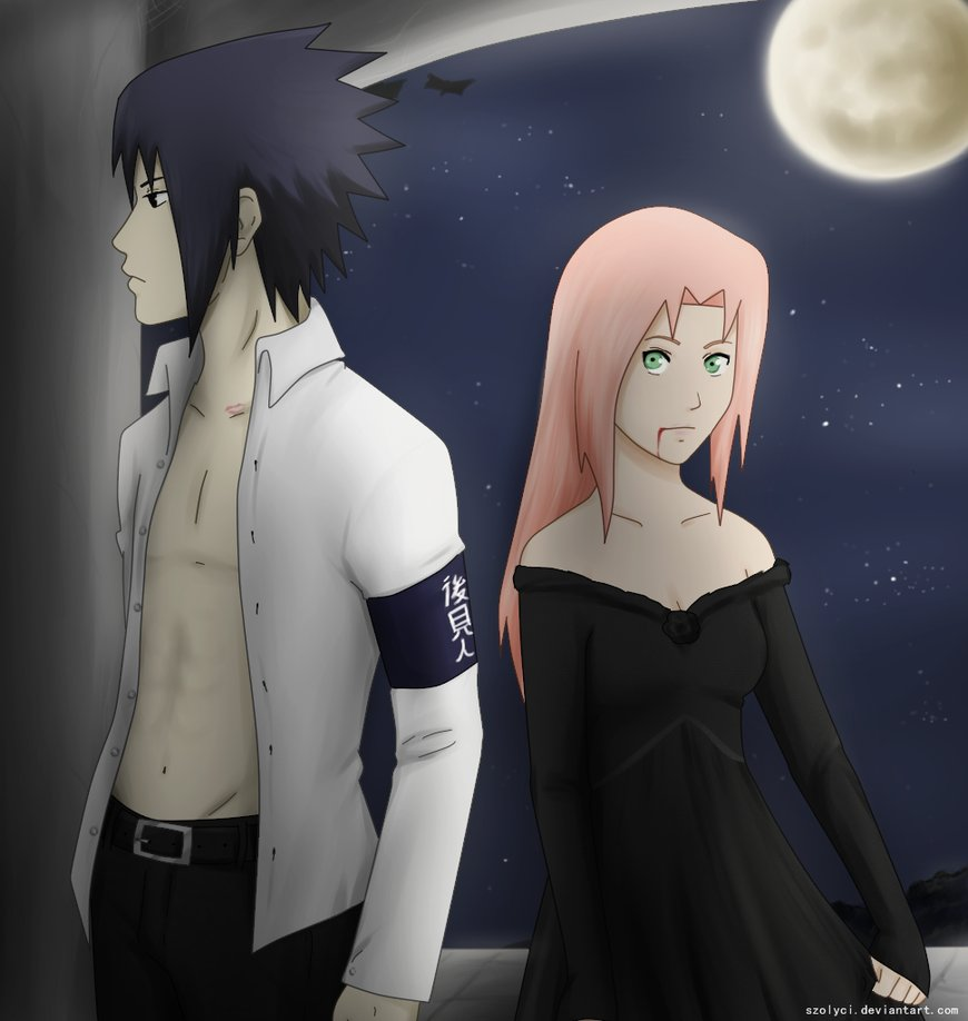 Kumpulan Gambar Sasuke Sakura Romantis Gambar Kata Kata