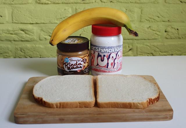 IMG 2172 - Recept: Tosti met Pindakaas, Banaan en Marshmallow Fluff