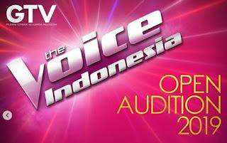 cara mendaftar di audisi menyanyi the voice indonesia 2019 gtv
