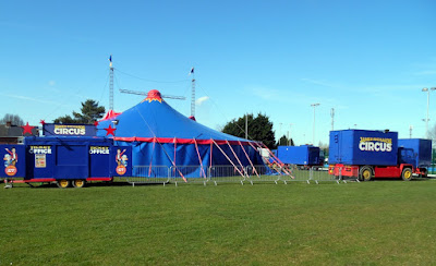 Picture: A circus came to Brigg during 2018 - a rare event at the Recreation Ground - see Nigel Fisher's Brigg Blog
