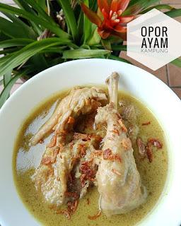 Resep Opor Ayam Ala Restoran By @cahyarini_nyie