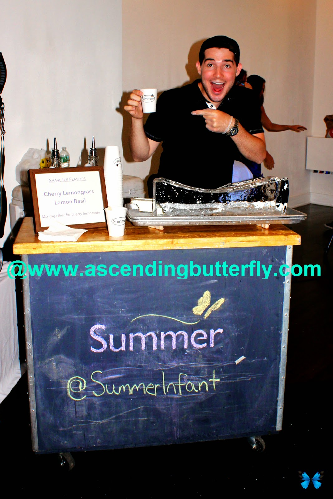 Shaved Ice Stand at Summer Infant Booth at Getting Gorgeous 2014