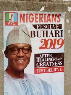 Buhari 2019 Poster