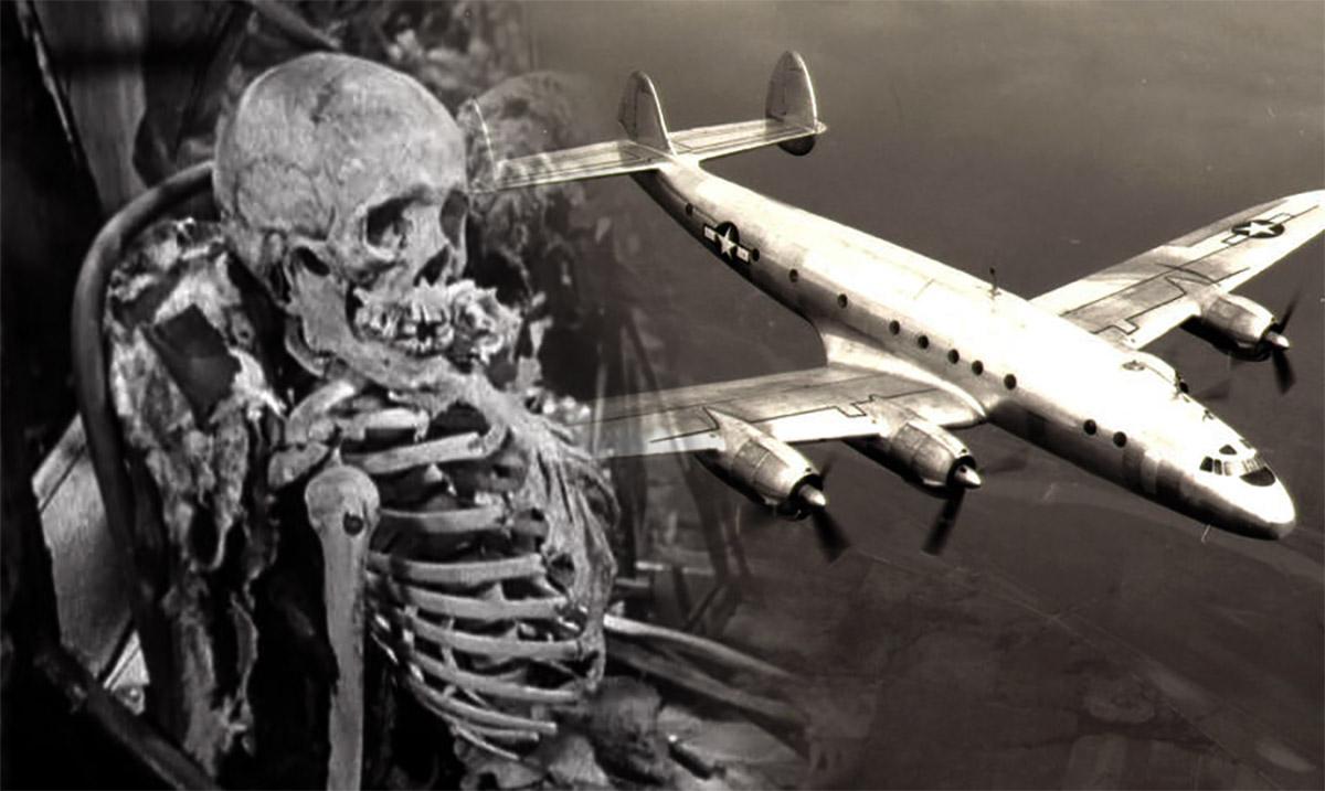 Voo 513 Santiago, desaparecimento, 92 esqueletos