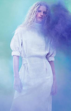 vestido blanco Zara primavera verano 2016