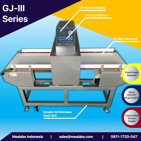 GJ-III Series Conveyorised Metal Detector