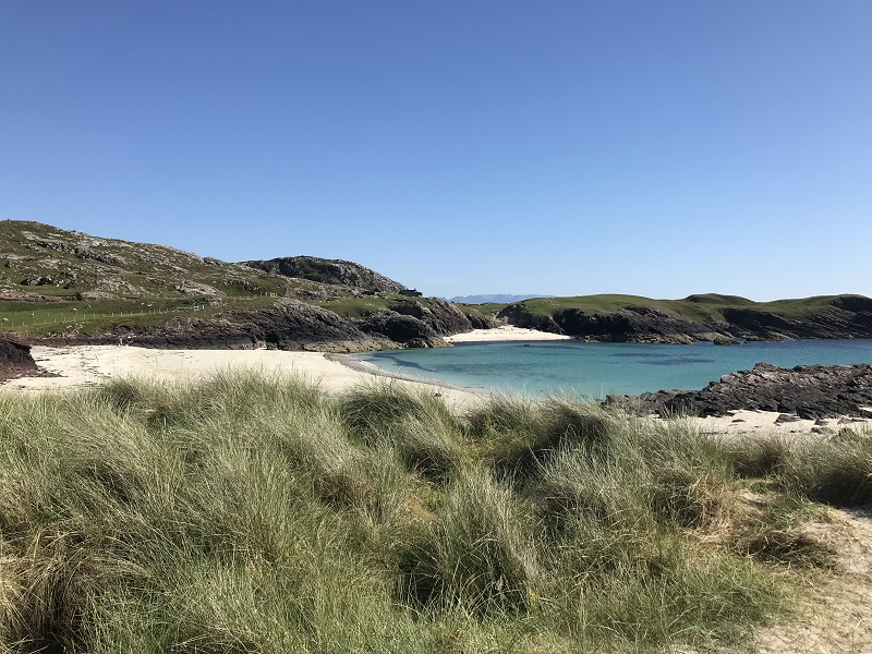 View to Clachtoll beach