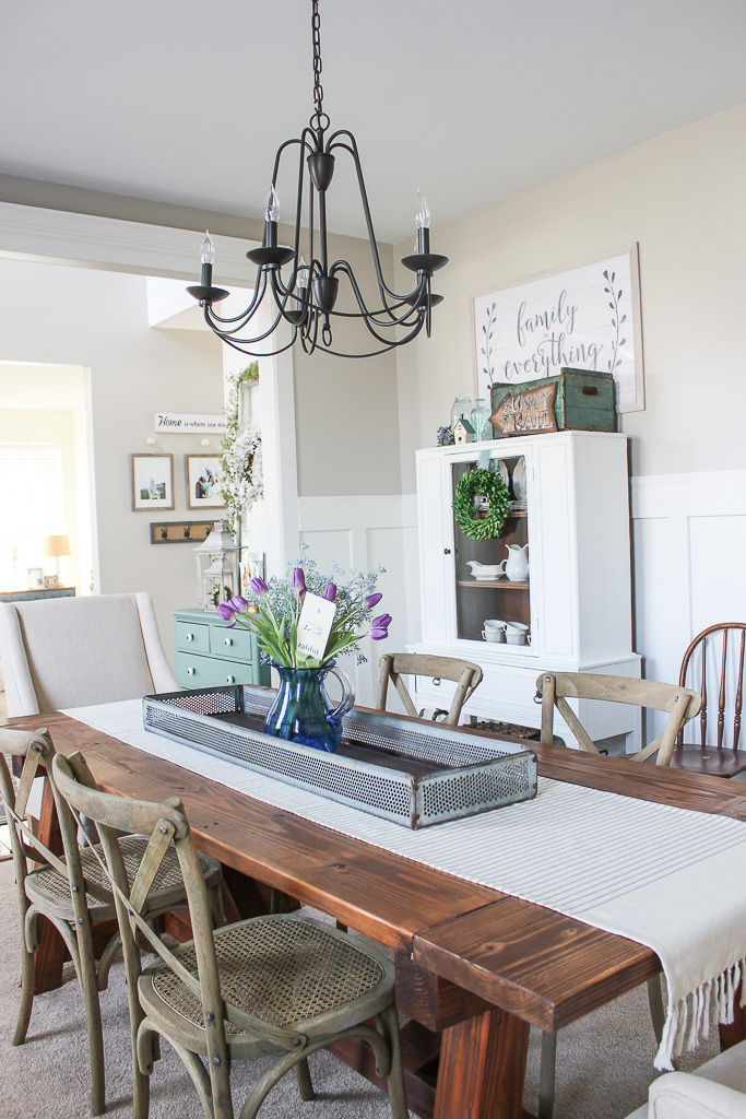 dining room spring ideas