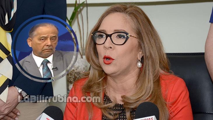 [Audio] Iris Guaba admite ordenó atacar a periodistas; Huchi Lora le responde