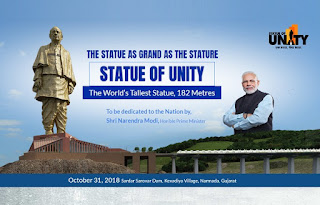 The World's Tallest Statue, 182 Metres