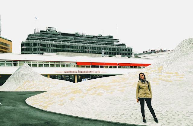 Mitä tehdä Helsingissä? Käy Amos Rexissä!