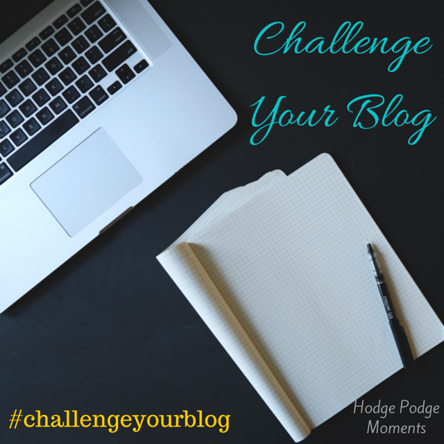 Challenge Your Blog: A Blog Reflection Challenge