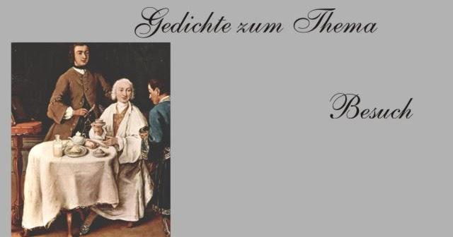 Gedichte Und Zitate Fur Alle Schlimmer Besuch Gedichte Zum Thema