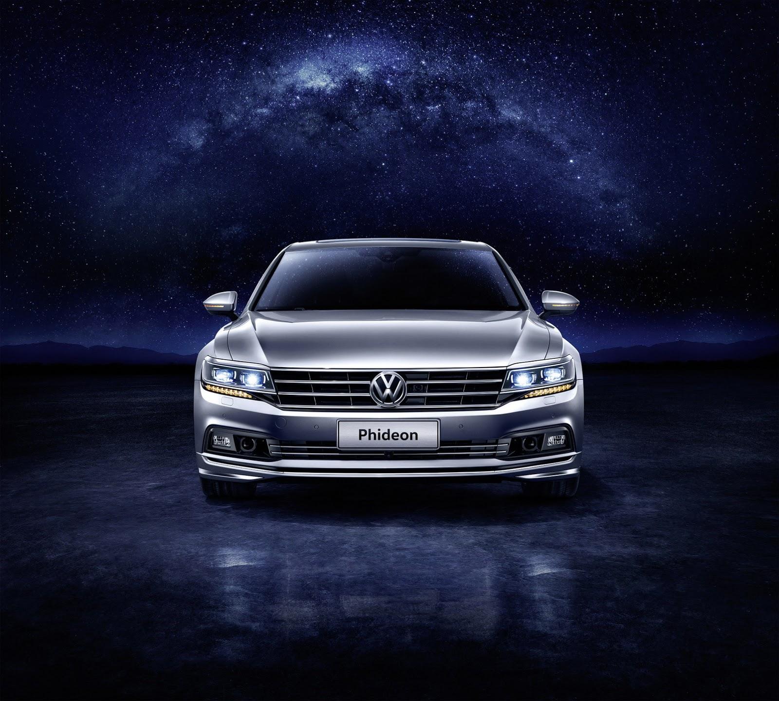 Volkswagen Phideon 2017