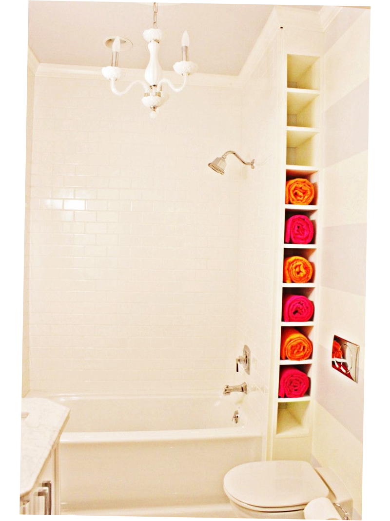 Bathroom towel storage ideas creative 2016 ellecrafts for Bathroom ideas for towels