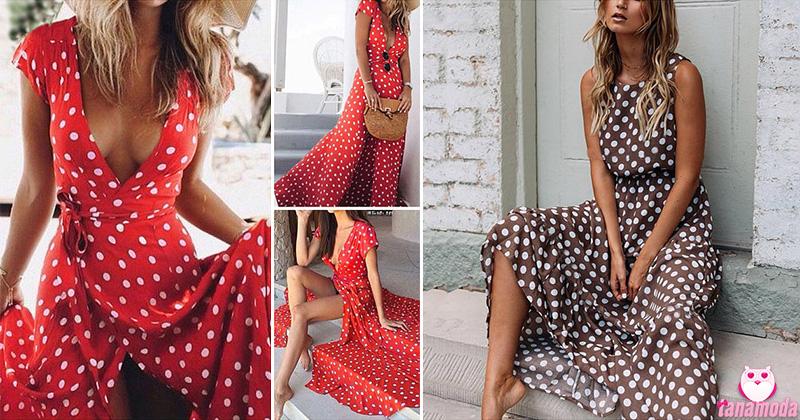 Polka Dot Dresses - 12 Inspirations