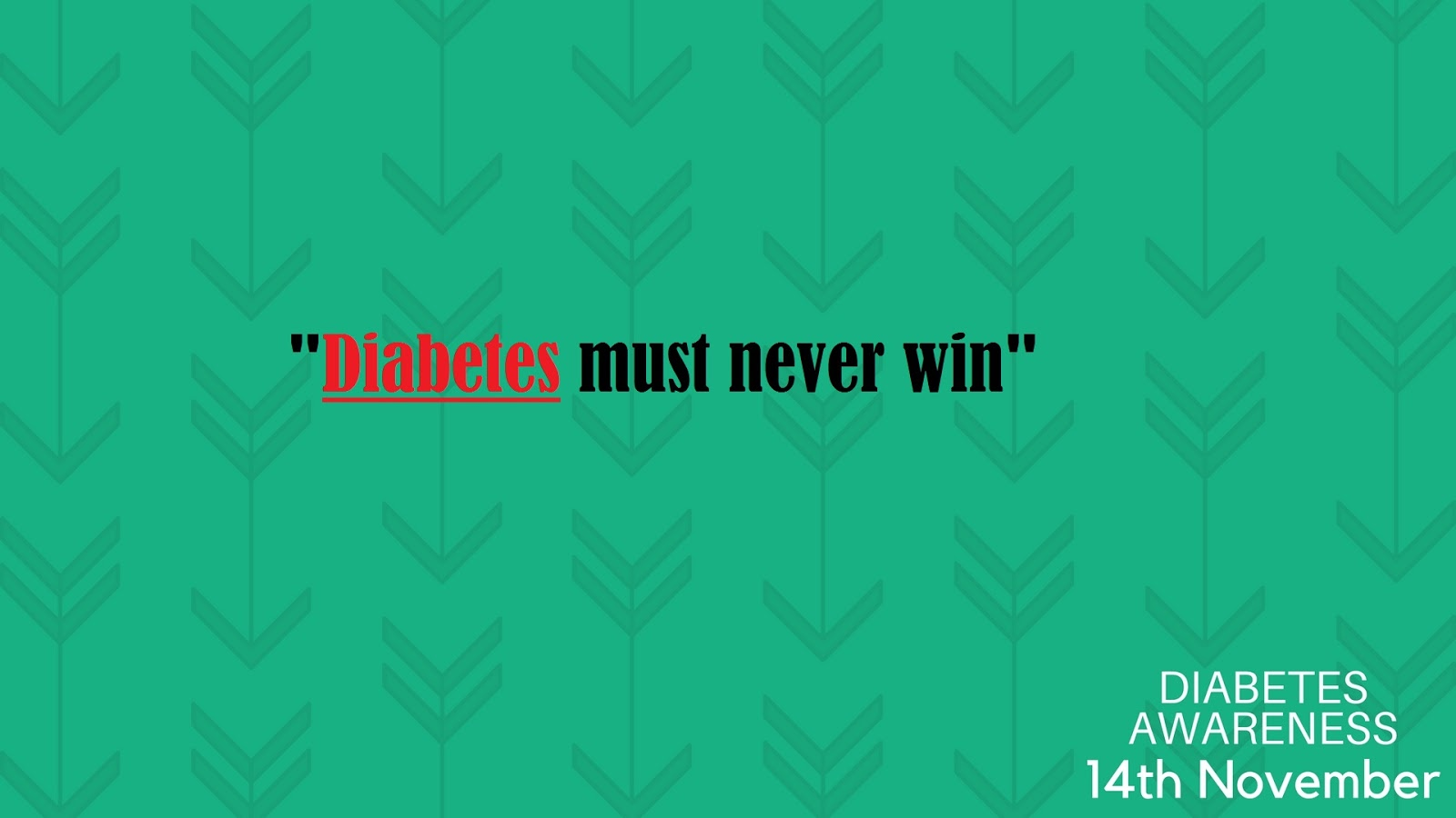 diabetes slogans