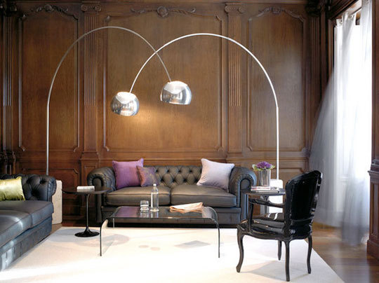 Through The French Eye Of Design The Arco Lamp By Flos