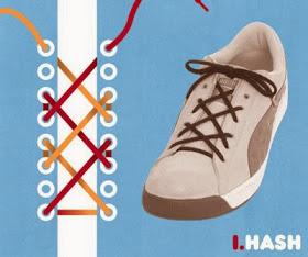 Cara-Cara Mengikat Tali Kasut Yang Paling Kreatif