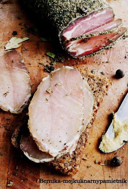 Schab, Wielkanoc, wedlina, wedzony, sniadanie, swieta, wieprzowina, bernika, kulinarny pamietnik