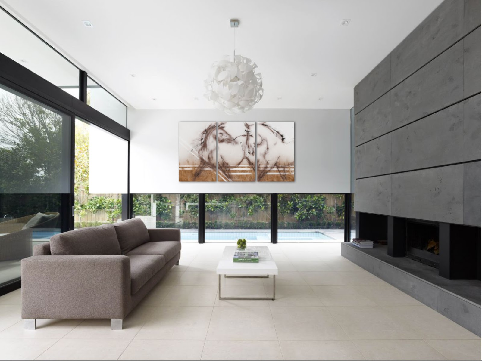 Modern Interior Decoration Living Rooms Ceiling Designs