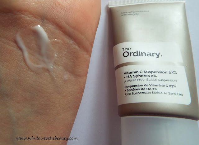 The Ordinary witamina C opinia