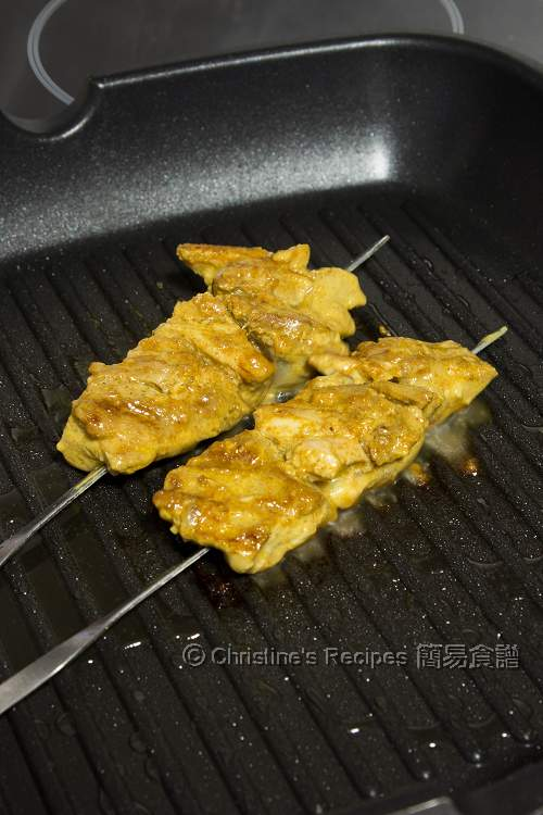 Grilled Spicy Chicken Skewers03