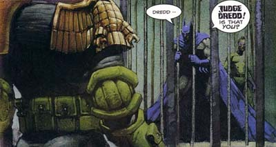 Review  Batman Judge Dredd Collection 3317b98db16